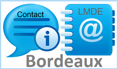 Contact LMDE de Bordeaux
