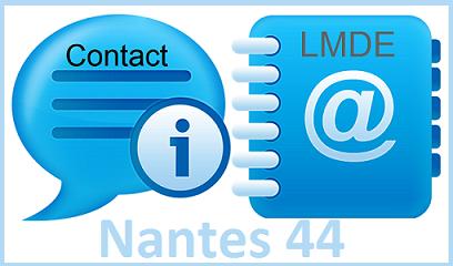Contact LMDE à Nantes