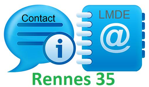 Contact LMDE à Rennes