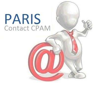 contact de la CPAM de Paris 75
