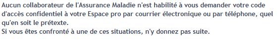 Vu sur ameli.fr