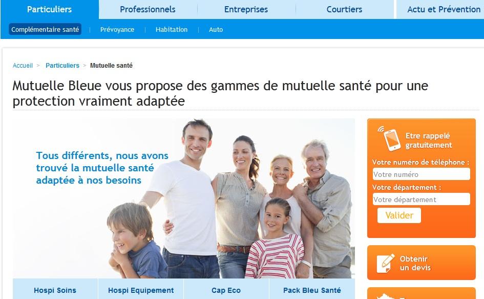Mutuellebleue.fr