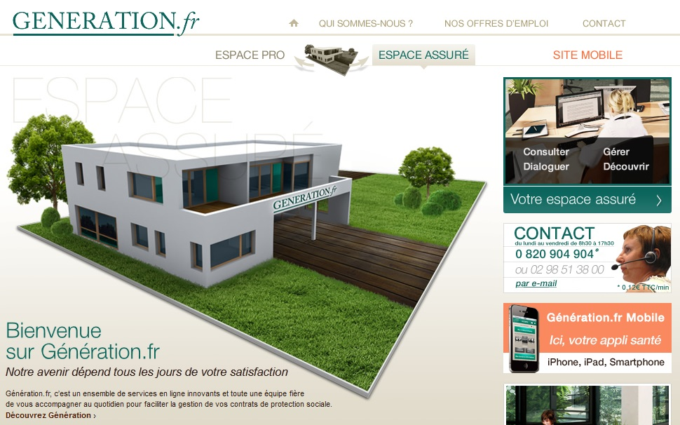 Extrait du site www.generation.fr