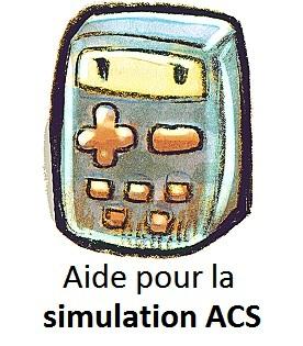 Aide à la simulation ACS