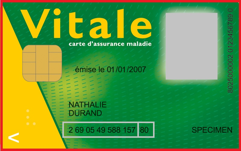 carte vitale  numéro sociale
