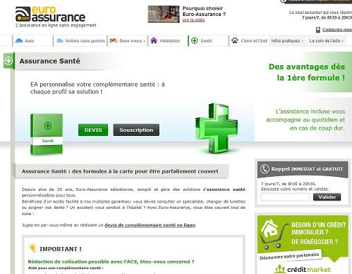 Extrait du site euro-assurance.com