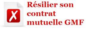 resiliation gmf mutuelle