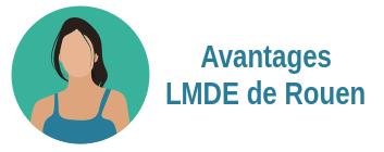 avantages mutuelle LMDE Rouen