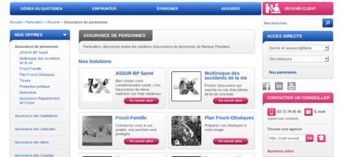 Site mutuelle banque populaire