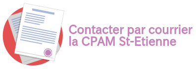 courriers CPAM St-Etienne